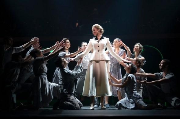 Evita 19 Solea Pfeiffer and ensemble
