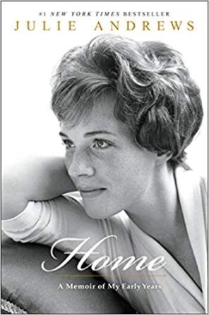 the book cover of her memoir Home