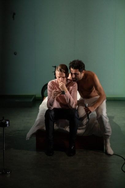 Violence 6 Laurenz Laufenberg and Renato Schuch, Photo by Teddy Wolff