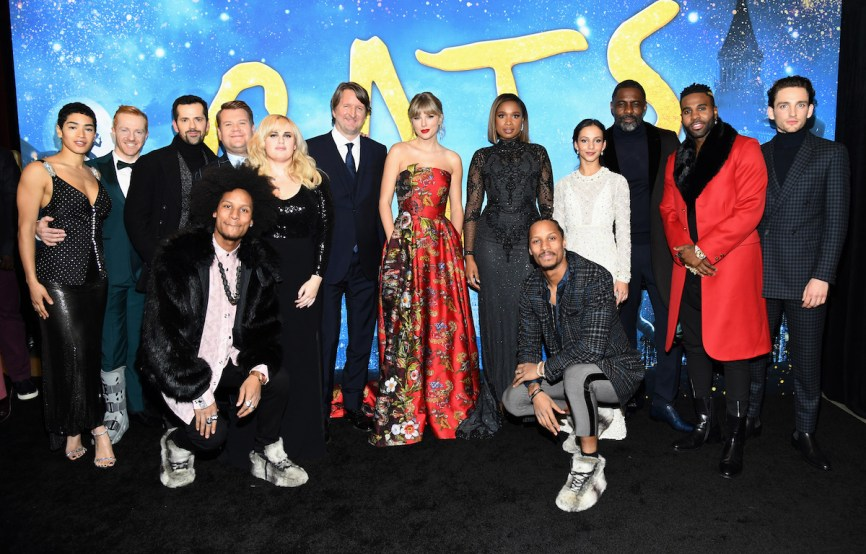 The cast of the movie 'Cats' attends The World Premiere of Cats, presented by Universal Pictures on December 16, 2019 in New York City. (Photo by Kevin Mazur/Getty Images for Universal Pictures)