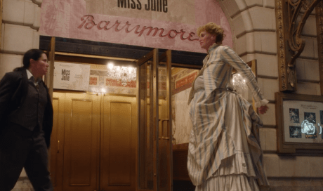 Her agent Susie confronts Sophie outside the Barrymore for messing up opening night
