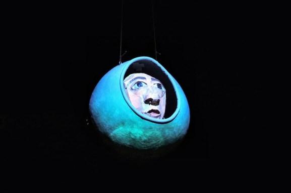 Copernicus puppet.