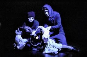 Banneker puppet, dying