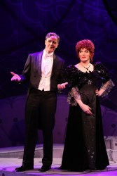 Howard McGillin and Charles Busch in THE CONFESSION OF LILY DARE at Primary Stages, Photo by Carol Rosegg