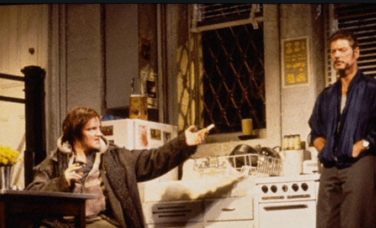 This is probably somebody we could leave out. Quentin Tarantino, nominated as best direct for Once Upon A Time in Hollywood, performed on Broadway in Wait Until Dark in 1998, as the the main villain.