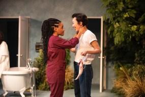 Gabby Beans (Bonnie) and Jo Mei (Jo)
