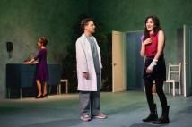 Carla Gugino (Carol), Vince Nappo (Dan), and Celeste Arias (Anna)