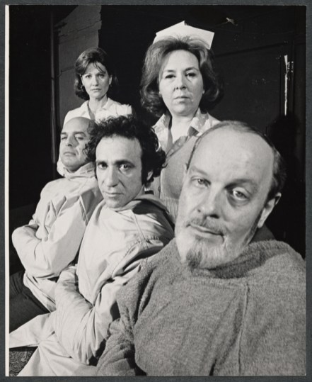 Bad Habits, 1974 a play on Broadway by Terrence McNally with Cynthia Harris, Doris Roberts, Emory Bass, F. Murray Abraham, and Michael Lombard