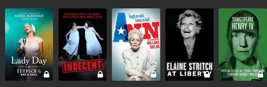 BroadwayHD selections