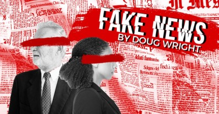 Fake News by Doug Wright