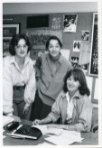 Gayle Austin, KathleenChalfant, and Julia Miles at the founding of WP Theater