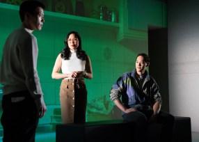 Aaron Yoo, Laura Kai Chen, and Edward Chin-Lyn