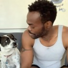 """Don't Look Back"" by Stephen Adly Guirgis, performed by William Jackson Harper (and his dog) from 24 Hour Plays' Viral Monologues online series"