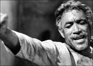 Anthony Quinn in Zorba