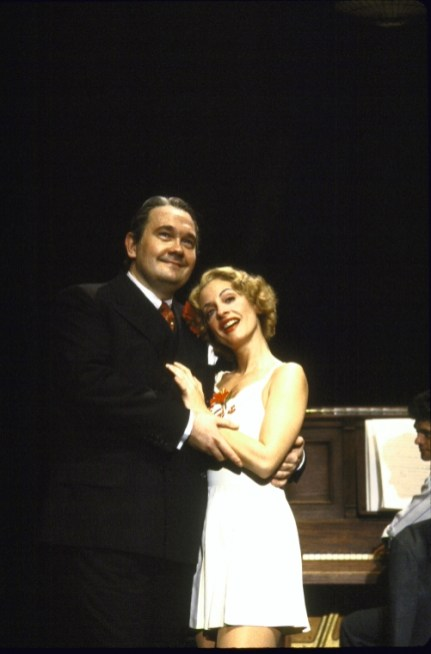 David Schramm and Patti LuPone in The Cradle Will Rock 1983