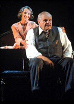 Dennehy, with Elizabeth Franz, in Death of A Salesman 1999