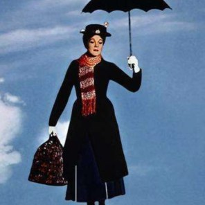 first big movie, Mary Poppins, for which she won an Oscar