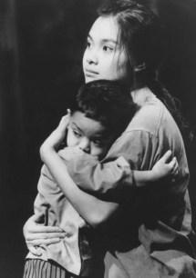 Lea Salonga in Miss Saigon opened April 9, 1991.