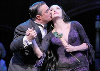 The Addams Family, 2010. Nathan Lane and Bebe Neuwirth