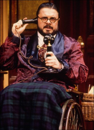 Nathan Lane in The Man Who Came To Dinner, 2000