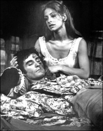 Patti Lupone and Kevin Kline in The Robber Bridegroom 1976