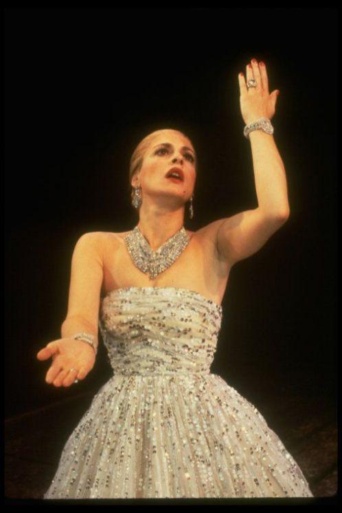 Patti Lupone as Eva Peron in Evita