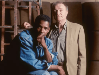 Wynn Handman with student Denzel Washington
