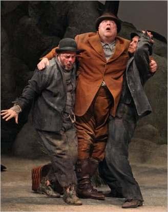 Waiting for Godot, 2009. Nathan Lane, John Goodman and Bill Irwin