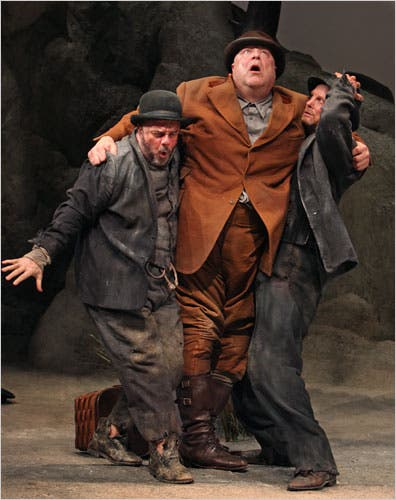 Waiting for Godot, 2009. Nathan Lane, John Goodman and Bill Irwin