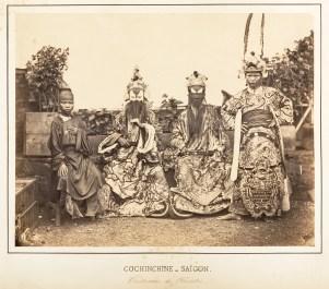 Costumes de Théâtre, Saïgon, Cochinchine 1866