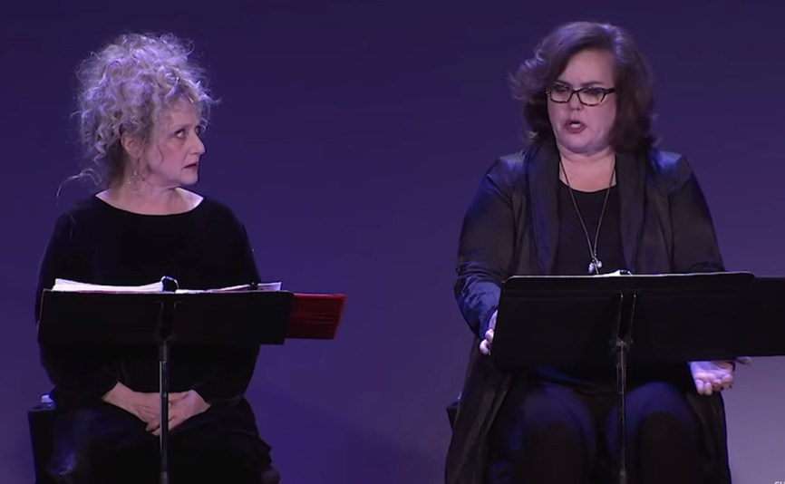 Carol Kane and Rosie O'Donnell