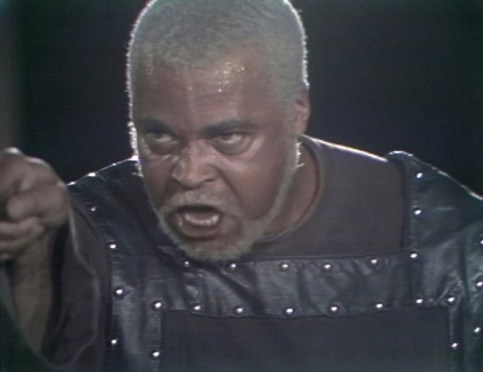 James Earl Jones in 1974 King Lear