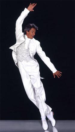 Tommy Tune dancing