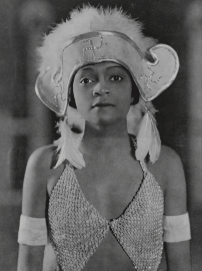 Florence Mills in costume for Blackbirds, 1926.