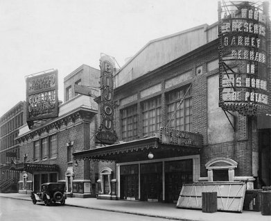 The Bijour Theater on 45th Street was built in 1917. It was one of the theaters torn down in 1982