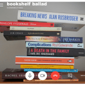 Bookshelf Ballad Anne Rabbitt What are the books saying behind the TV pundits? Using only titles found on her own shelves, Anne gives them voice in a poignant poem that is both tender and funny. You'll never arrange your books alphabetically again. @RabbittAnne