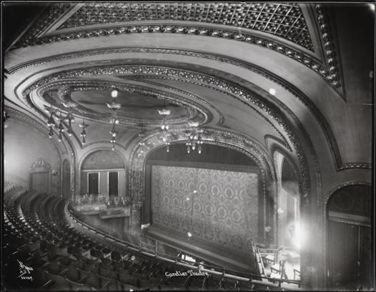 Candler Theater, built inside the Candler Building on 42nd Street by Coca-Cola magnate Asa Candler in 1914 and leased to George M. Cohan and Sam H. Harris until 1920. It became a movie house in 1933, stood empty after 1978,was demolished in 1996. It was replaced by Madame Tussaud's Wax Museum.