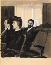 Edward Hopper- Ibsen (At the theater)