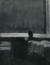 Edward Hopper Solitary Figure in a Theater