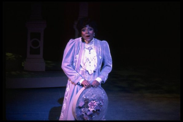 "Leslie Uggams in a scene from the Broadway production of the musical ""Jerry's Girls""."