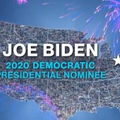 After roll call nominated Joe Biden