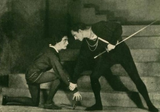 John Barrymore as Hamlet in 1923