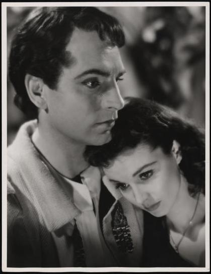 Laurence Olivier and Vivien Leigh in Romeo and Juliet in 1940. The actors became newlyweds shortly afterward.