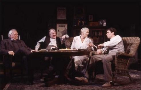 Long Day's Journey into Night, Dennehy, Hoffman, redgrave, Leonard