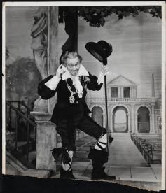 Maurice Evans as Malvolio in Twelfth Night 1940