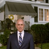 Pennsylvania -- Scranton, Biden's hometown, in front of his childhood home