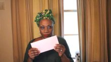 Regina Taylor in her Vote! (the black album)