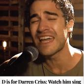 D is for Darren Criss