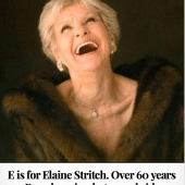 E is for Elaine Stritch