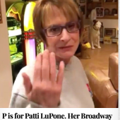P is for Patti LuPone